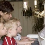 Early Childhoood piano lessons, Southern California Piano Academy, Los Angeles, North Hollywood Studio