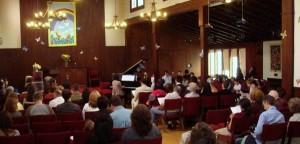 Piano recital, Southern California Piano Academy, Los Angeles, North Hollywood Studio